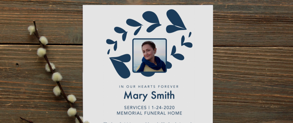 Funeral Program Template: 8 Essential Items To Include