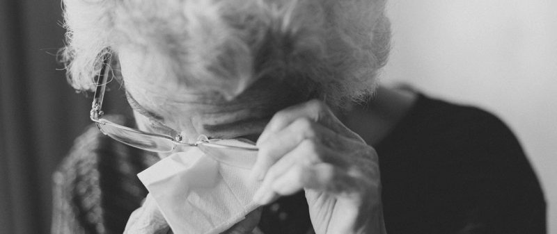 Guiding a Grieving Senior Through the Funeral Process