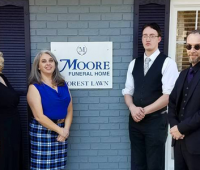 Jennifer Duran, Manager of Moore Funeral Home