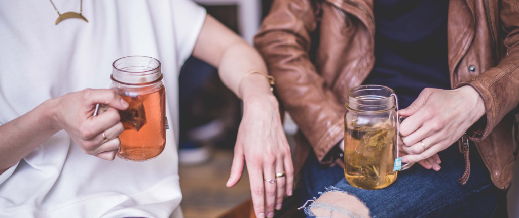 Finding Gratitude In Life's Ordinary Moments Socializing with Good Friends