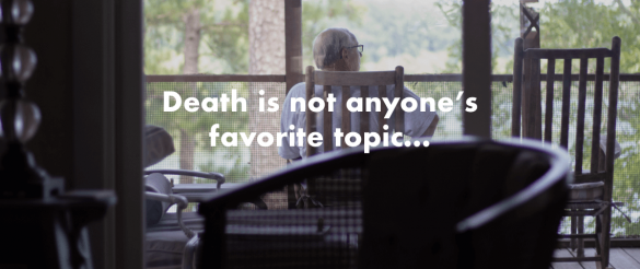 """Death is not anyone's favorite topic."" Jill Carbone"